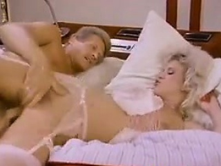 Blonde MILF In Undergarments Bonking Classic