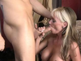 Hot blonde cougar Allison Kilgore fucking