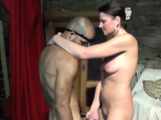 Profligate MILF gives an astounding handjob with the addition of blowjob
