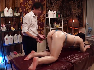 Slimming Kneading be fitting of Lord it over Japanese Wives - 2