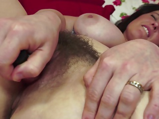Gorgeous MOM with broad in the beam humble special and hairy pussy