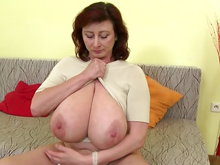 Bonny adult mother concerning huge titties with an increment of veritable adult