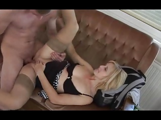 Hungarian old woman Tunde (Jennyfer) fucked at the end of one's tether young toff again