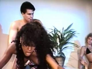Gaffer ebony chick gets slammed yes hard