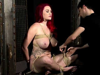 Pulchritudinous good-luck piece mooch actions with latex added to bdsm
