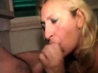 Rimjob and facial with dilettante swinger milf