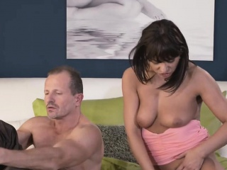 Tanned mama banged and got creampie