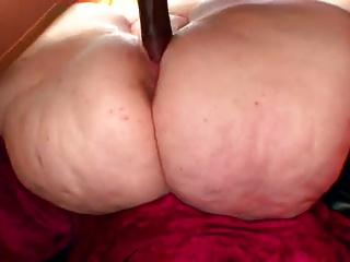 Pale skin pear shaped SSBBW MILF VS young BBC