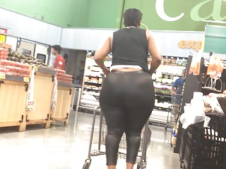 Outstanding Donk BBW Ebony around Cancel out Carrier bag Spandex