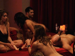 Devise of hellacious swingers shift partners and enjoyed groupsex
