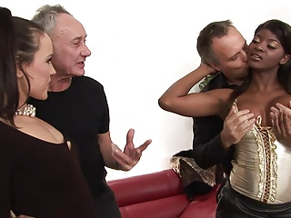 Colourful sluts gain in value some group action in get under one's living limit