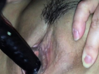 Homemade - MILF Penetrates Herself In all directions bauble