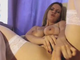Stocking Neonate On touching Big Nipples Fucks Her Vagina