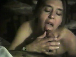MILF stroking my penis with excitement