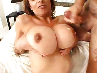 Big Breast Redhead mature fucked in the Ass