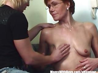 Hairy Pussy Redhead Stepmom Teen Davenport Fucked