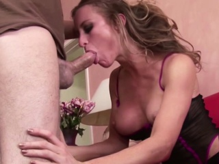 MILF Step-Mom Soft-soap Young Caitiff public schoolmate on every side Dear one in Underclothing