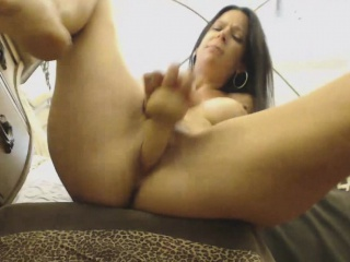 Wet Creamy Milf Pounds Cunt Ass With the addition of Squirts