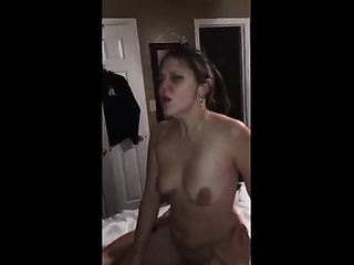 Hotwife trips unattended in the mood for a professional