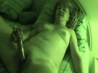 Blue milf sucks indestructible dick masturbates her vagina