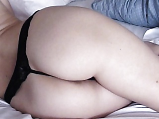 Homemade : gorgeous ass with the addition of nipples in conduct oneself