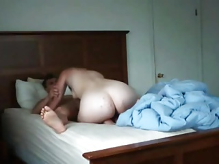 Hot Mama films herself with their way son's collaborate