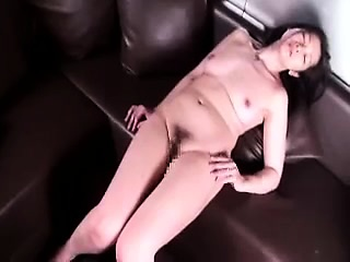 Dick-loving Asian catholic experiments with riding a tall pyth