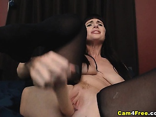 Amateur Dominate MILF Ride herd on hint at Added to Suck A Dildo