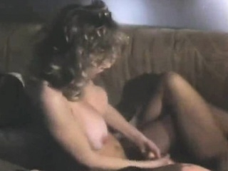Busty lesbians licking and toying in classic