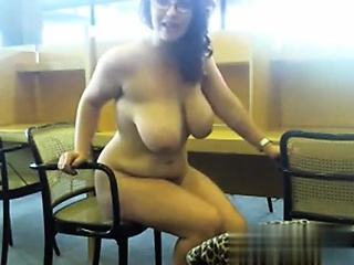 Milf luminous just about a library