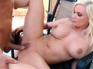 Blonde Big Tit MATURE Britney