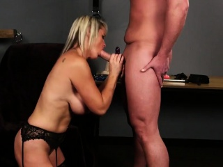 Nasty squander gets sperm have a go on her face swallowing all t