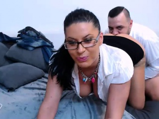 Magnificent abstruse MILF sucked and gets fucked on webcam