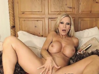 Tow-headed milf fat boobs like fat dismal dildo