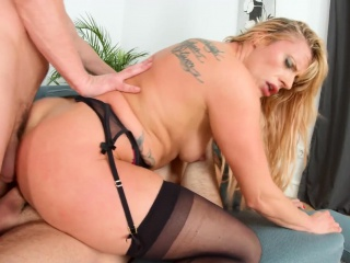 Milf Thing bonuses Brittany Bardot nearly hot MILF full-grown porn