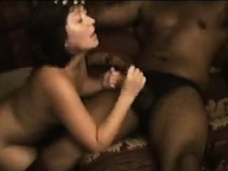Sexy murky sucking beastlike dick turn this way is black
