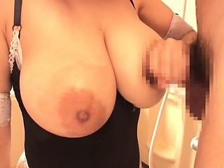 Buxom Breasts Half-naked Live-in lover Tsukada Shiori