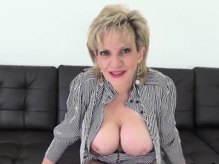 Unfaithful english milf lady sonia exposes her detailed puppies