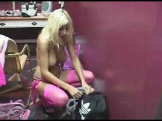 Puma Swede backstage fun