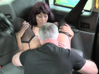 Black unspecified gets slammed at the end of one's tether nasty domestic servant with the backseat