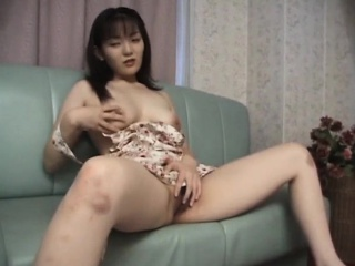 Rika gets say no to queasy pussy fingered and sporadic out of order out of reach of the couch
