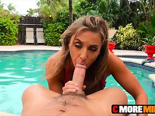Milf Kate Linn is twosome sexy slut with an increment of down to pound