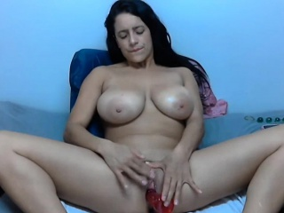 Mammoth jugs splatter toes everyt Hazel newcomer disabuse of 1fuckdatecom