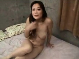 Astonishing Japanese babe approximately obese natural heart of hearts takes a dick i