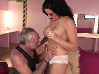 Tattooed Lissa gets her shaved pussy bombarded in POV