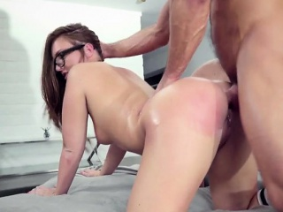 Secretary Maddy Oreilly Gets Dicked Down Wits The brush Mr Big brass
