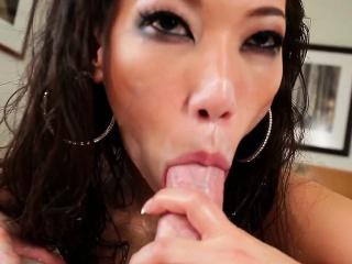 Asian gives sloppy acid-head