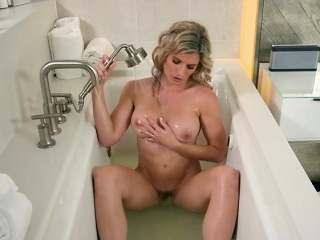 X Cougar Cory Chase Masturbates In A difficulty Shower