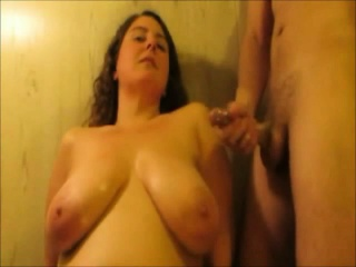 MILF with tits that are hulking