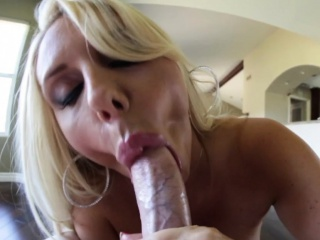 Titfucking milf with bigtits creamed in pov